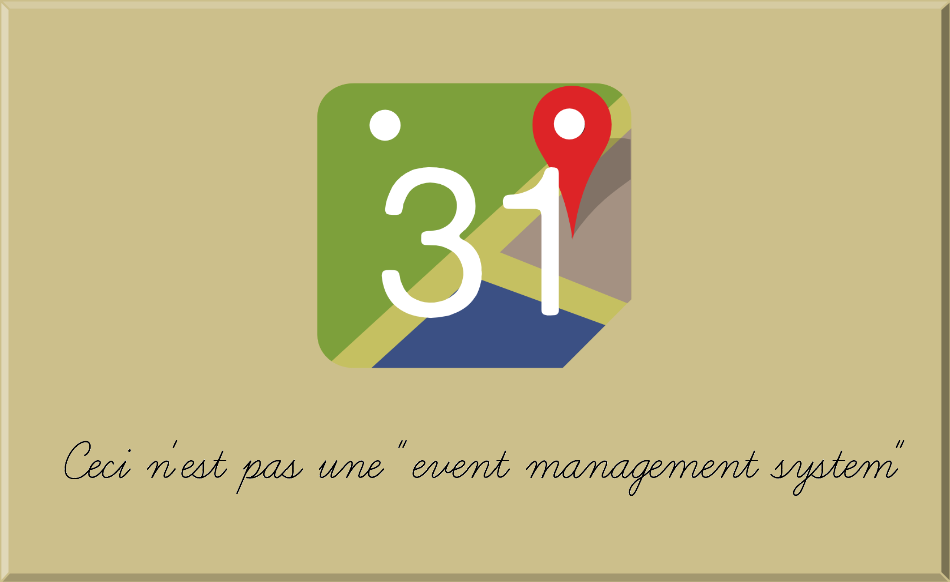 Is MapTiming an 'event management system'?